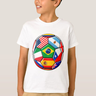 ball with flags T-Shirt