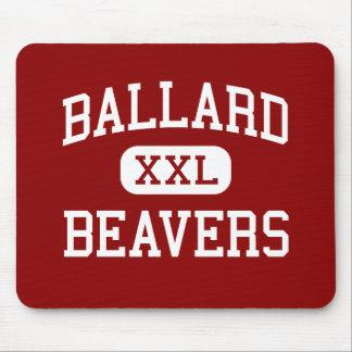 Ballard - Beavers - High - Seattle Washington Mouse Mat