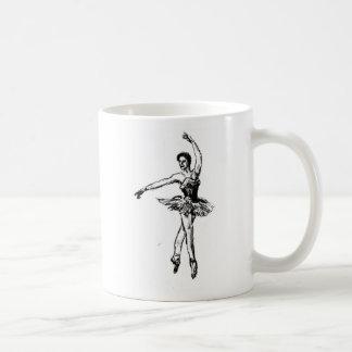 ballarina pose2 005 classic white coffee mug