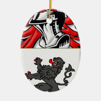 Ballen Coat of Arms Christmas Tree Ornament