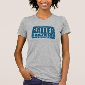 BALLER BRAZILIAN - I'm Gangster Jiu-Jitsu Grappler T-shirts