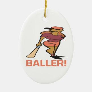 Baller Christmas Ornament