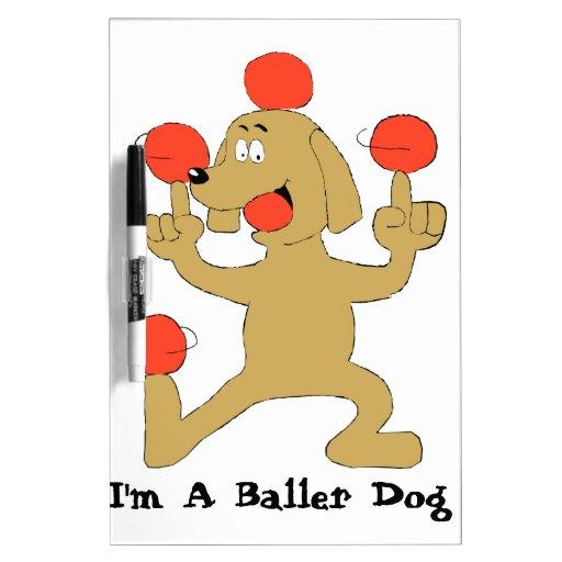 Baller Dog Dry-Erase Boards