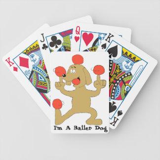 Baller Dog Deck Of Cards