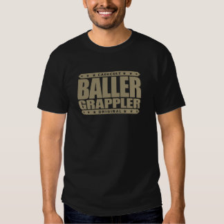 BALLER GRAPPLER - Gangster at Brazilian Jiu-Jitsu Shirts