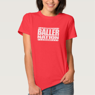 BALLER NATION - In God We Trust but Stay Gangster Shirts