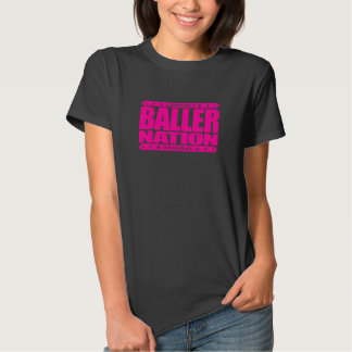 BALLER NATION - In God We Trust but Stay Gangster Tshirts