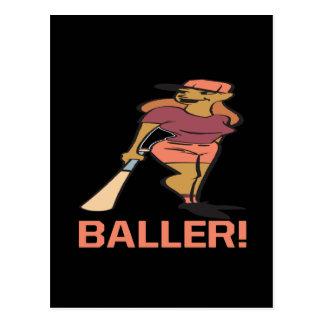 Baller Postcard