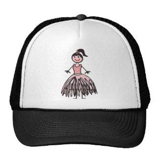 ballerina 1 mesh hats
