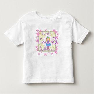 Ballerina 3rd Birthday Tshirts and Gifts