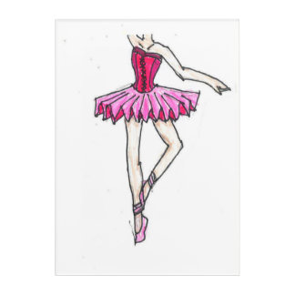 Ballerina Acrylic wall art