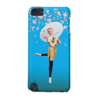 Ballerina and Cherry Blossoms iPod Touch 5G Cover