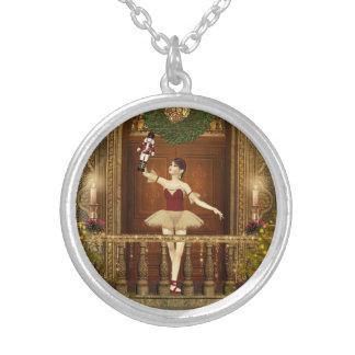 Ballerina and Nutcracker Pendant Necklace