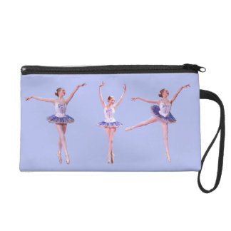 Ballerina, Bagettes Accessory Bag, Customizable Wristlet