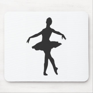 Ballerina - Ballet Dancer Mouse Pad