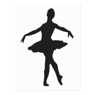 Ballerina - Ballet Dancer Postcard