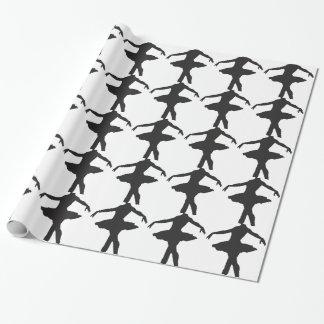 Ballerina - Ballet Dancer Wrapping Paper