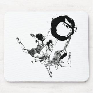 Ballerina Ballet dancing Mouse Pads