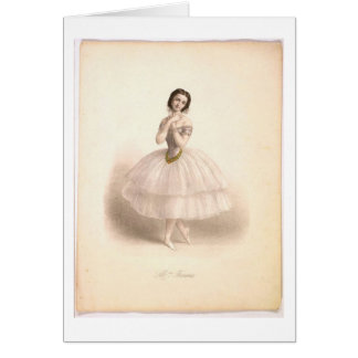 Ballerina Beauty Card