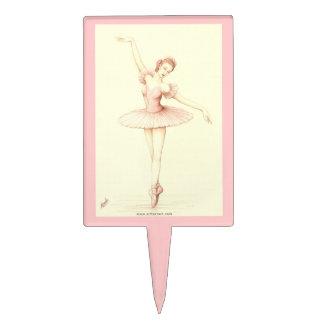 Ballerina Cake Picks