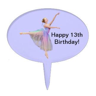 Ballerina Cake Topper, Customizable Cake Topper