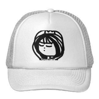 Ballerina Cap Trucker Hat