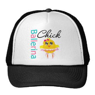 Ballerina Chick Trucker Hat