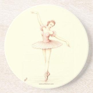 Ballerina Coasters