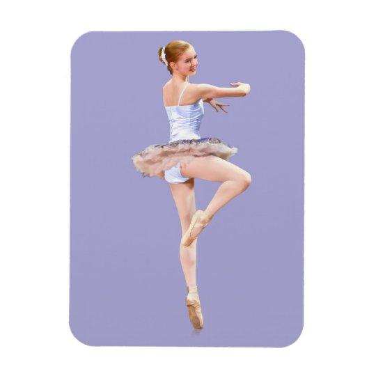Ballerina Customisable Magnet
