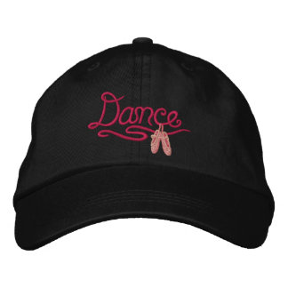 Ballerina  - Dance Embroidered Baseball Caps