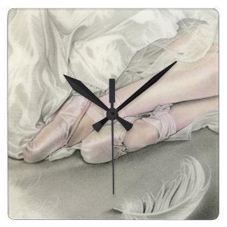 Ballerina Dance of the Swan clock