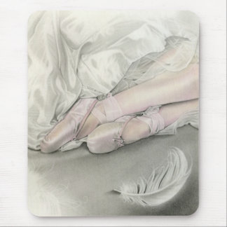 Ballerina Dance of the Swan Mousepad