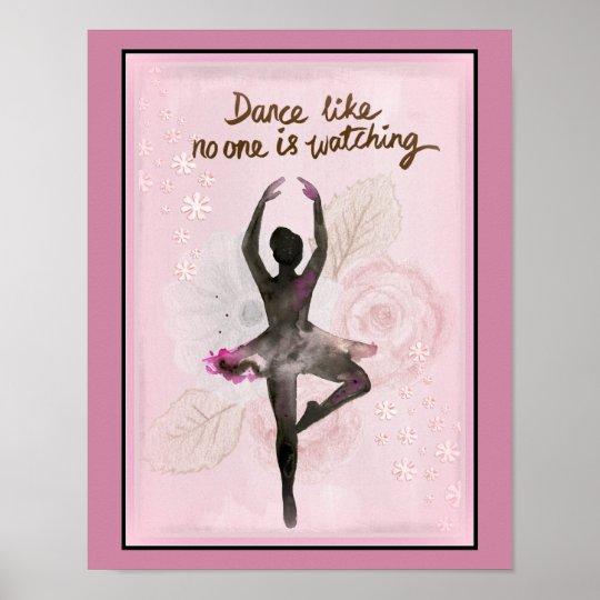 Ballerina Dance Poster