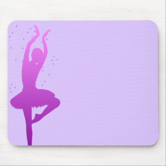Ballerina dancer mouse pad