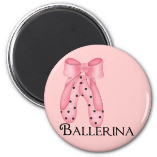 Ballerina Dotted Slippers Magnet