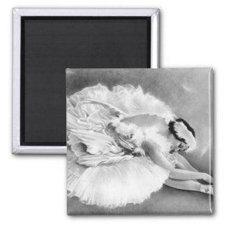 Ballerina Dying Swan Magnet