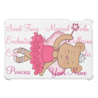 Ballerina Fairy Bear Customizable Ipad case