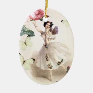 Ballerina Fairy Christmas Ornament