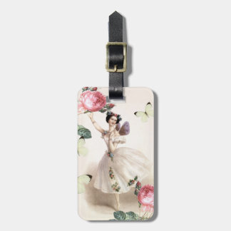 Ballerina Fairy Luggage Tag