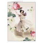 Ballerina Fairy Stationery Note Card
