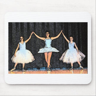 Ballerina Gifts Mouse Pad
