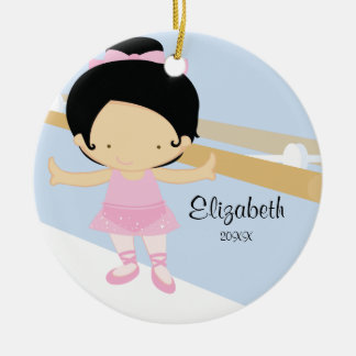 Ballerina Girl Ballet Dance Christmas Ornament