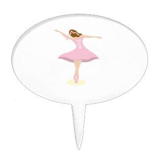 Ballerina Girl Cake Toppers
