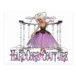 Ballerina - Hardcore Couture Post Card