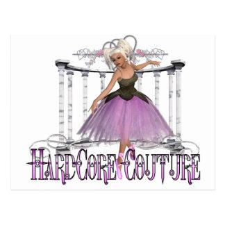Ballerina - Hardcore Couture Postcard