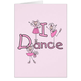 Ballerina I Dance T-shirts and Gifts Cards