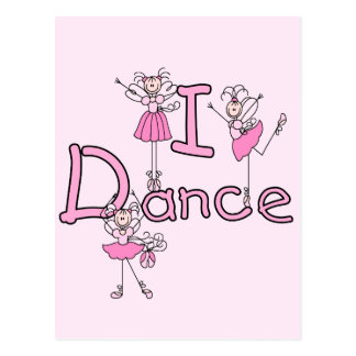 Ballerina I Dance T-shirts and Gifts Post Card