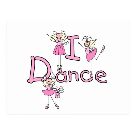 Ballerina I Dance T-shirts and Gifts Post Cards