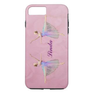 Ballerina in Arabesque,  Customizable Name iPhone 7 Plus Case
