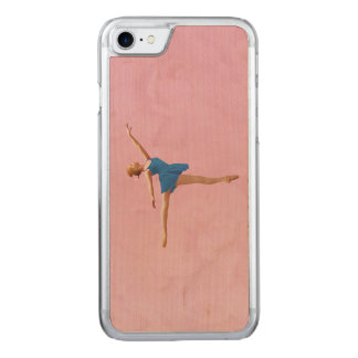 Ballerina in Arabesque Position Carved iPhone 8/7 Case
